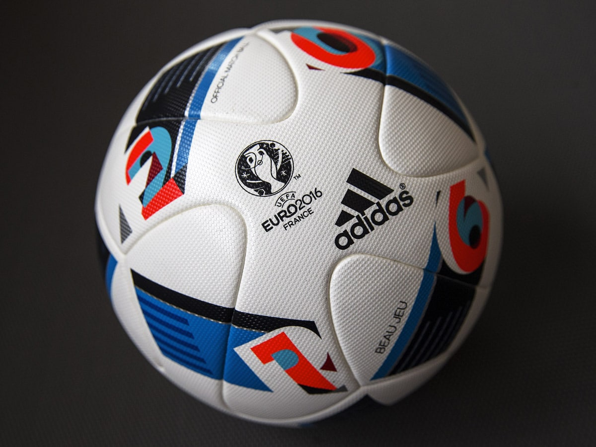 Ballon Beau Jeu Adidas UEFA Euro 2016-2