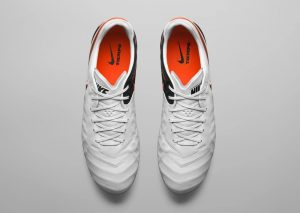 Nike Tiempo Legend 6 (VI) Blanc/Noir/Orange-1