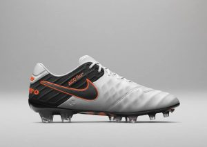 Nike Tiempo Legend 6 (VI) Blanc/Noir/Orange-2