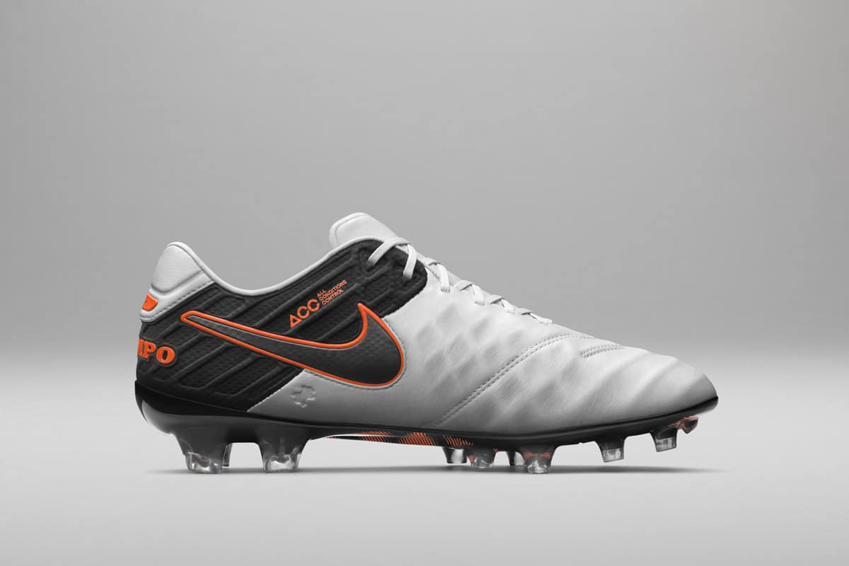 Nike Tiempo Legend 6 (VI) Blanc/Noir/Orange-3