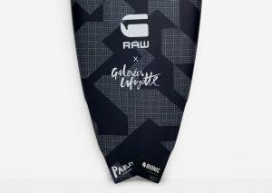 Planche de Surf G-STAR RFTO X GALERIES LAFAYETTE SURFBOARD-w