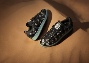 adidas Stan Smith x Pharrell BBC 'Pony Hair' Black/Noir-2