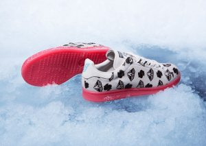 adidas Stan Smith x Pharrell BBC 'Pony Hair' Blanc/Rouge-2