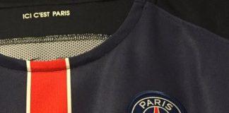 Maillot PSG 'je suis Paris' contre Lorient