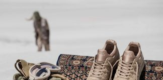 monkey time x ASICS Gel Lyte V 'Sand Layer'-1