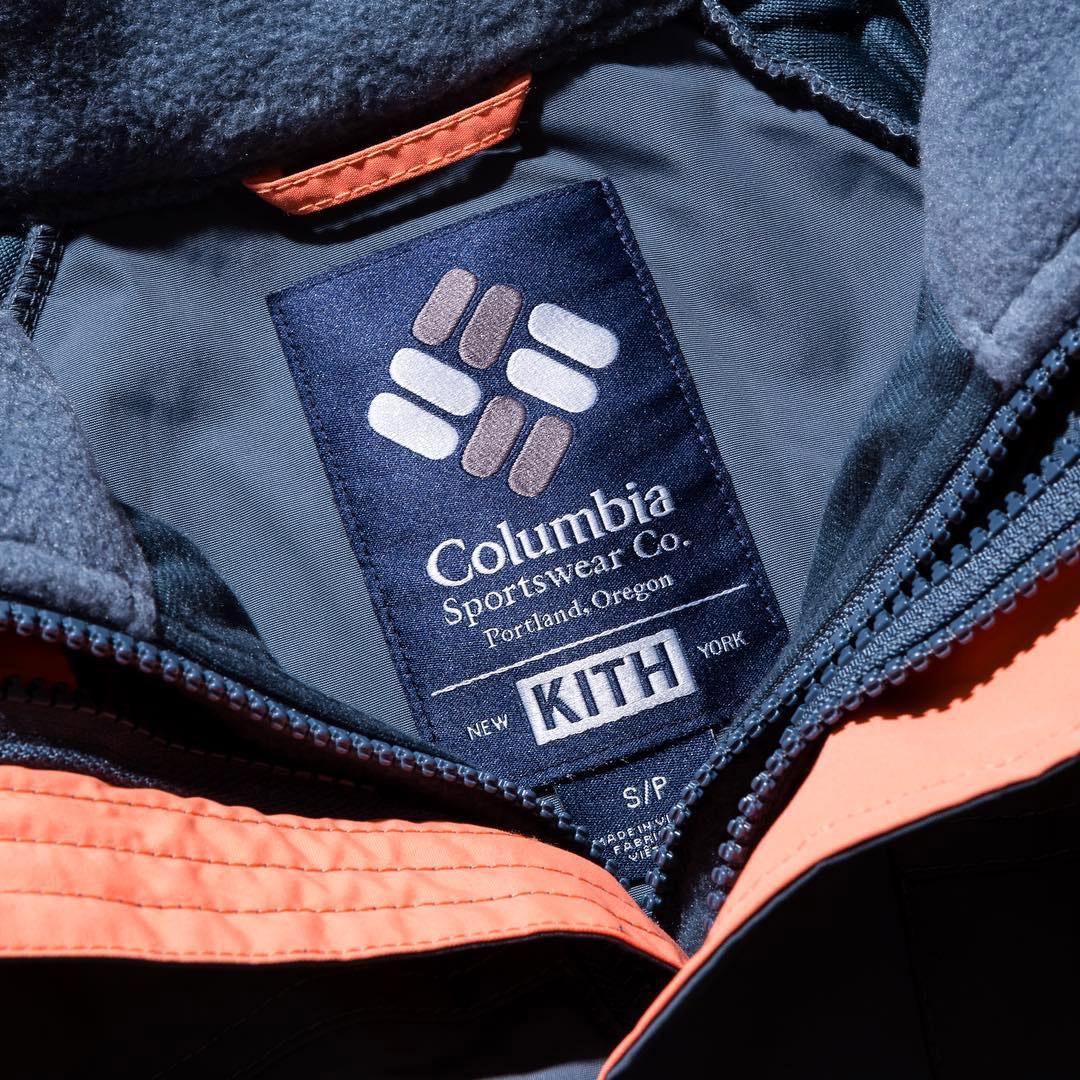 Casquette Columbia x Kith Bugaboo