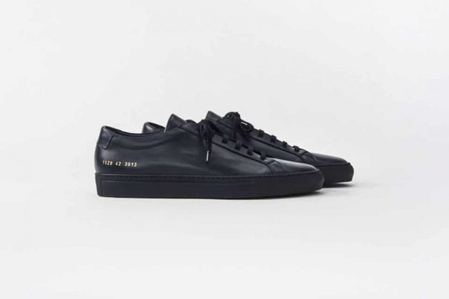 Common Projects Noir/Black - Printemps/Été 2016