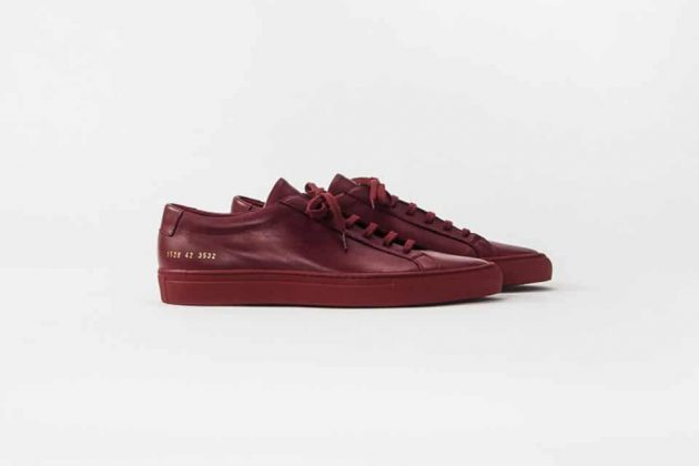 Common Projects Rouge/Red - Printemps/Été 2016