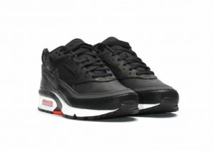 Nike Air Max BW Premium 'BLACK BRIGHT CRIMSON'-1