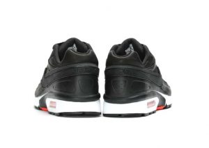 Nike Air Max BW Premium 'BLACK BRIGHT CRIMSON'-2