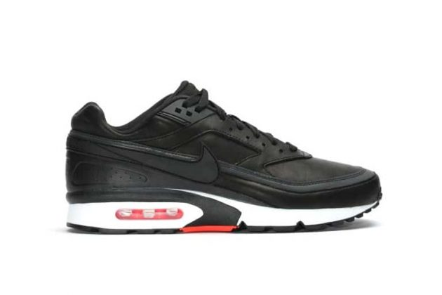 Nike Air Max BW Premium 'BLACK BRIGHT CRIMSON'