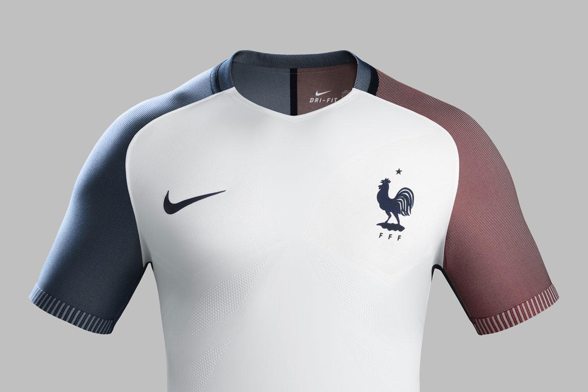 les tenues de l quipe de france pour l euro 2016 sont