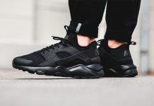 Nike Air Huarache Run (Noir/Black)