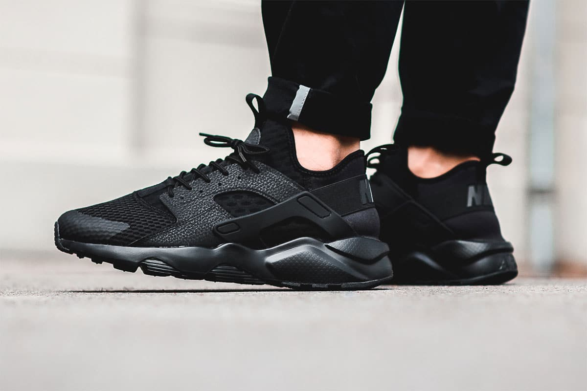 Nike Air Huarache Ultra Breathe (NoirBlack) |