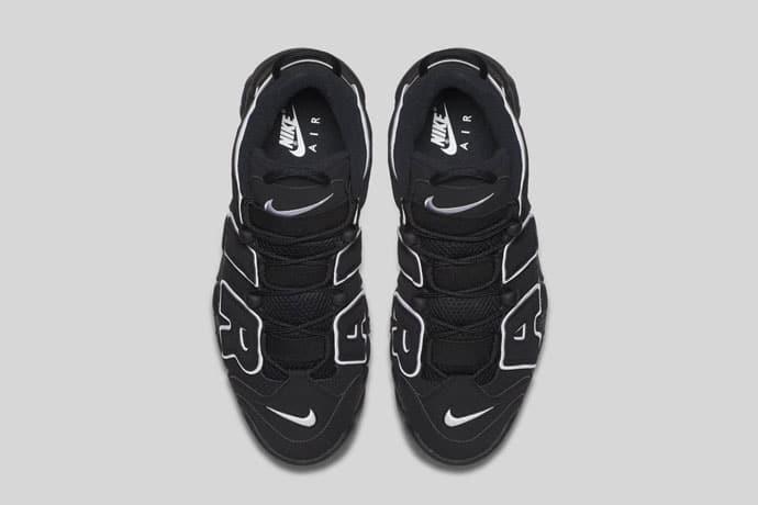 Nike Air More Uptempo (Black/Noir) 2016-2