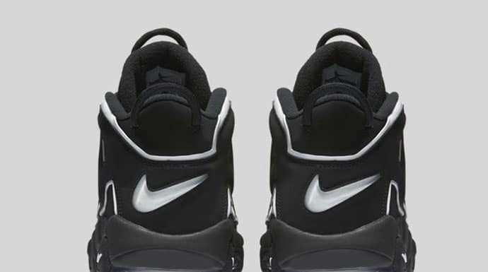 Nike Air More Uptempo (Black/Noir) 2016