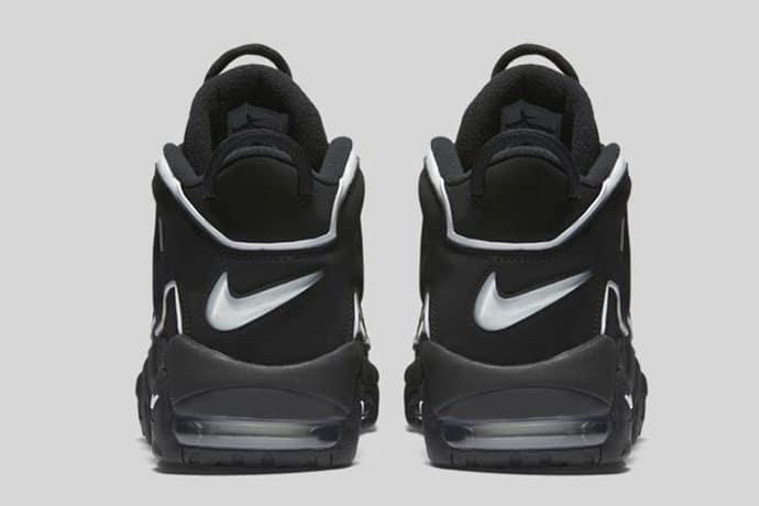 Nike Air More Uptempo (Black/Noir) 2016