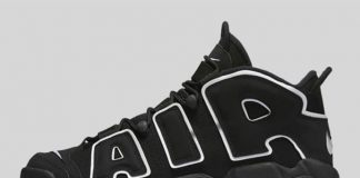 Nike Air More Uptempo (Black/Noir)