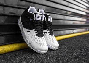 Nike Air Trainer 3 LE – Black/Black/White -1