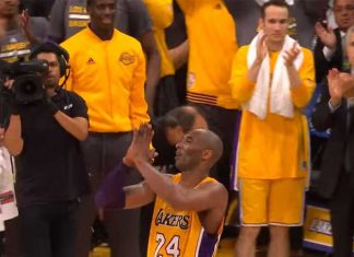 kobe 60 points last game NBA