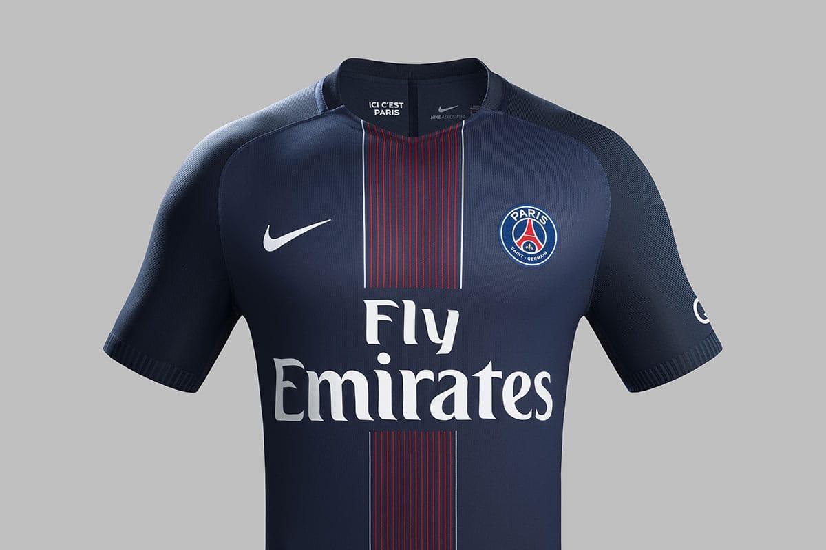 Maillot PSG Bleu Domicile 2016/2017