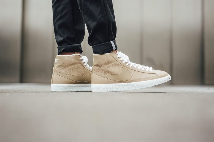 Nike Blazer Mid Premium 'Linen Summit White Gum Light Brown' 2017-1