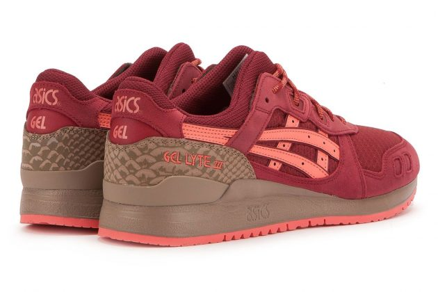 ASICS GEL LYTE III 'TRAIL PACK' (RED/RED)-2