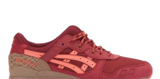 ASICS GEL LYTE III 'TRAIL PACK' (RED/RED)