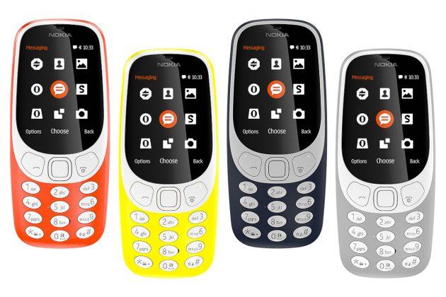 Nouveau coloris Nokia 3310 retour 2017