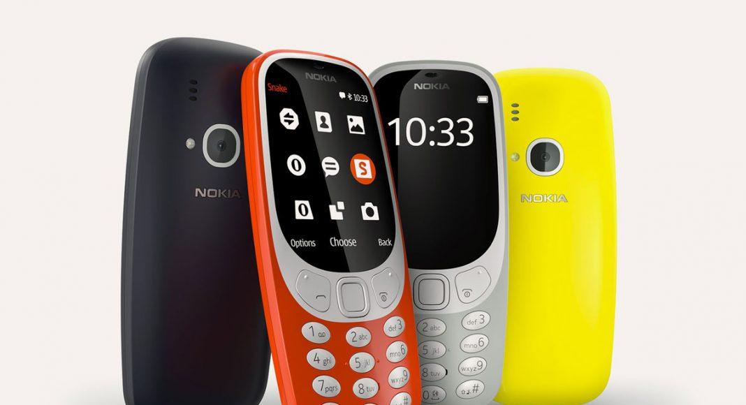 Nouveau Nokia 3310 retour 2017