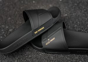 adidas by Raf Simons adilette Bunny (Black/Noir)-1