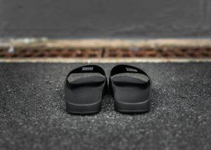 adidas by Raf Simons adilette Bunny (Black/Noir)-3
