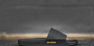 adidas by Raf Simons adilette Bunny (Black/Noir)