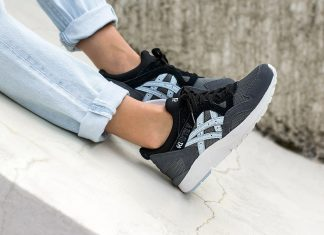 ASICS GEL LYTE V (Carbon/Skyway)-1