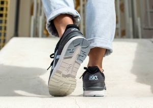 ASICS GEL LYTE V (Carbon/Skyway)-2